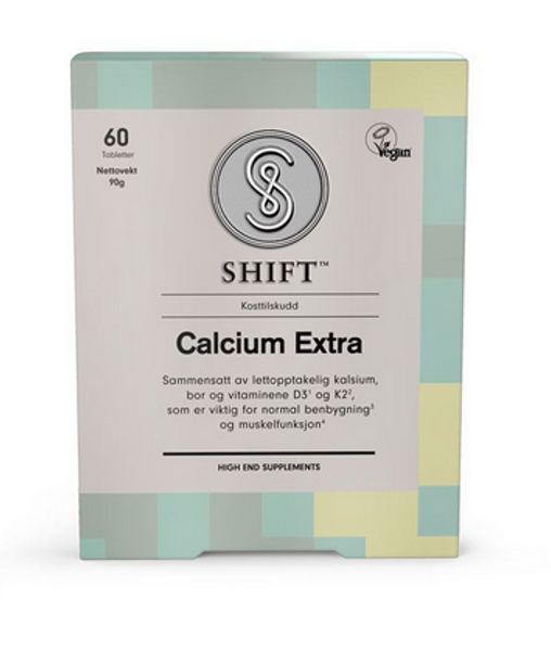 SHIFT Calcium Extra 60 tabletter