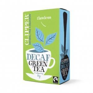 Bilde av Clipper Tea Green Tea DECAF 20 poser