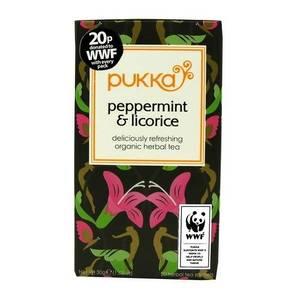 Bilde av Pukka Peppermint & Licorice Tea 20 poser