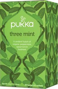 Bilde av Pukka Three Mint 20 poser