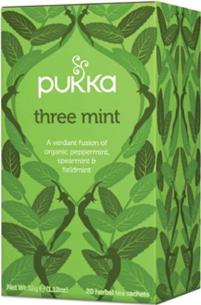 Pukka Three Mint 20 poser