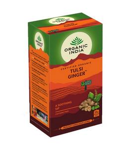 Bilde av Organic India Tulsi Ginger Tea 25 poser
