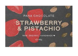 Bilde av Pana Chocolate Strawberry & Pistachio
