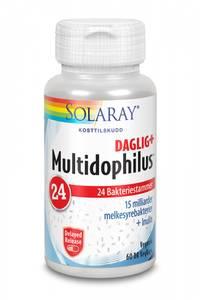 Bilde av Solaray Multidophilus 24 probiotika 60 kapsler