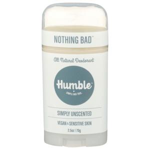Bilde av Humble Deodorant Simply Unscented stift 70g