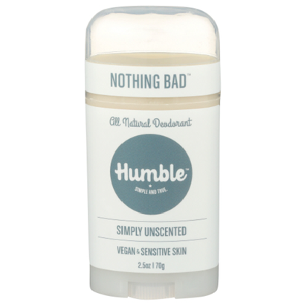 Humble Deodorant Simply Unscented stift 70g