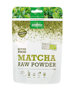 Bilde av Purasana Matcha pulver rawfood 75 g