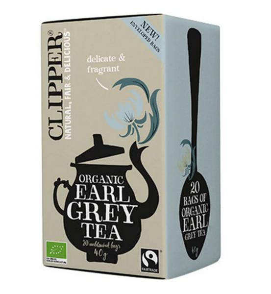 Clipper Tea Earl Grey Black Tea 20 poser