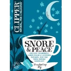 Bilde av Clipper Tea Snore & Peace 20 poser