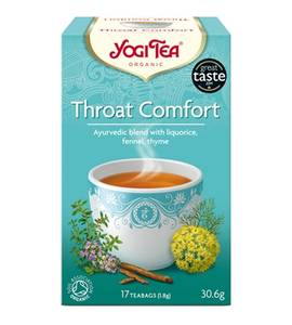 Bilde av Yogi Tea Throat Comfort 17 poser
