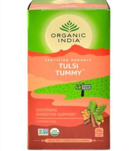 Bilde av Organic India Tulsi Tummy Tea 25 poser