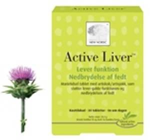 Bilde av Active Liver 60 tabletter New Nordic