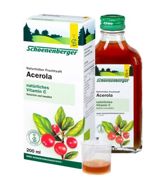 Salus Schoenenberger Acerolajuice 200 ml
